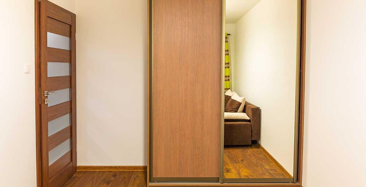 Bespoke fitted bedroom wardrobe in Berkshire